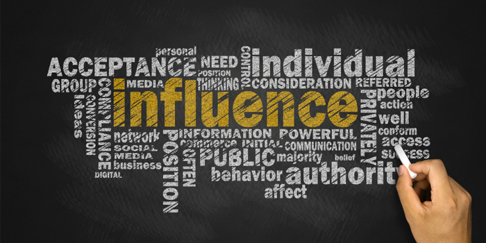 influence of media on levels of